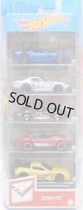 2021 5PACK 【CORVETTE】'11 Corvette Grand Sport/'69 COPO Corvette/Corvette Stingray/Corvette Grand Sport Roadster/Corvette C6R