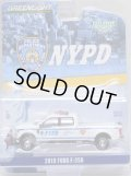 """2020 GREENLIGHT HOBBY EXCLUSIVE 【""""NYPD"""" 2019 FORD F-350】 WHITE/RR"""