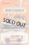 2021 【MBX FIELD CAR】 ORANGE (MATCHBOX TAMPO) (NEW CAST)