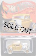 """2021 RLC EXCLUSIVE  【""""Deuce Coupe"""" '32 FORD (ドア開閉タイプ)】  MET.WARM GOLD/RR (お一人様1個まで)(予約不可)"""