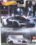 """2021 HW CAR CULTURE """"EXOTIC ENVY"""" 【McLAREN SENNA】LT.GRAY/RR"""