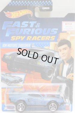 """画像1: 2021 HW FAST & FURIOUS """"SPY RACERS"""" 【ION MOTORS THRESHER】 FLAT BLUEGRAY/5SP (予約不可)"""