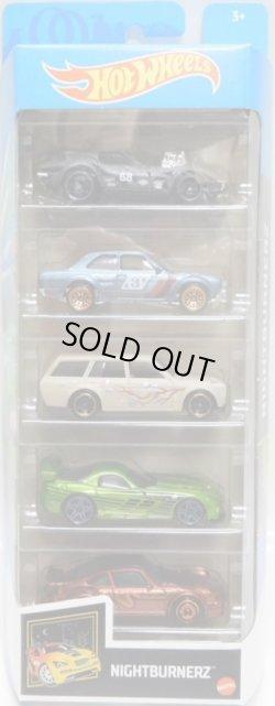 画像1: 2021 5PACK 【NIGHTBURNERZ】'68 Corvette - Gas Monkey Garage/'70 Ford RS1600/'71 Datsun Bluebird 510 Wagon/'08 Viper SRT10 ACR/Porsche 934 Turbo RSR