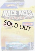 2009 TARGET EXCLUSIVE RACE ACES 【FORD FOCUS】 CHROME BLUE/O5