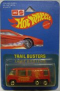 TRAILBUSTERS 【GMC MOTOR HOME (No.9645 SPIDER MAN)】  RED/BW  (LEO MATTEL ONLY)
