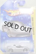 TARGET EXCLUSIVE SNOW FLAKE CARD 【2008 TESLA ROADSTER】 SILVER/10SP