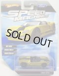 2010 SPEED MACHINES 【FORD GTX1】 MET.YELLOW/A6