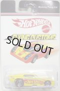 2007 TARGET EXCLUSIVE FLYING CUSTOMS 【MUSTANG FUNNY CAR】 YELLOW/RL