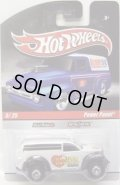 2010 HOT WHEELS DELIVERY 【POWER PANEL】 WHITE/RR