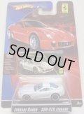 2008 FERRARI RACER 【FERRARI 599 GTB FIORANO】 WHITE/A6