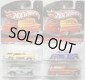 HOT WHEELS DELIVERY - SWEET RIDES 【'55 CHEVY PANEL/'34 FORD SEDAN DELIVERY/'57 BUICK/FAT FENDERED '40】