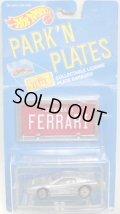 PARK'N PLATES 【FERRARI TESTAROSSA (2048)】 SILVER/UH (TAN INTERIOR)