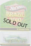 2010 BRAZIL CONVENTION 【'65 VW FASTBACK】 MET.GREEN/RR