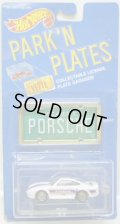 PARK'N PLATES 【PORSCHE 959 (2038)】 WHITE/UH  (GREEN PLATE)