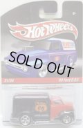 HOT WHEELS DELIVERY 【'49 FORD C.O.E.】 RED-BLACK/RR
