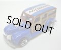 "LOOSE - 2010 TOYS""R""US SWEET RIDES 20 SET 【'40 WOODIE】 BLUE/5SP"