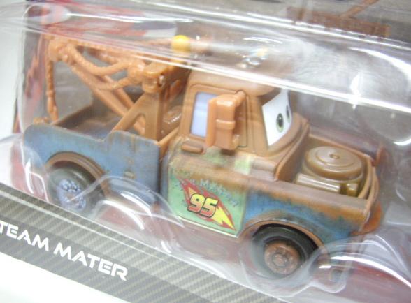 Disney Cars 2 Exclusive 2car Pack 【race Team Mater Zen